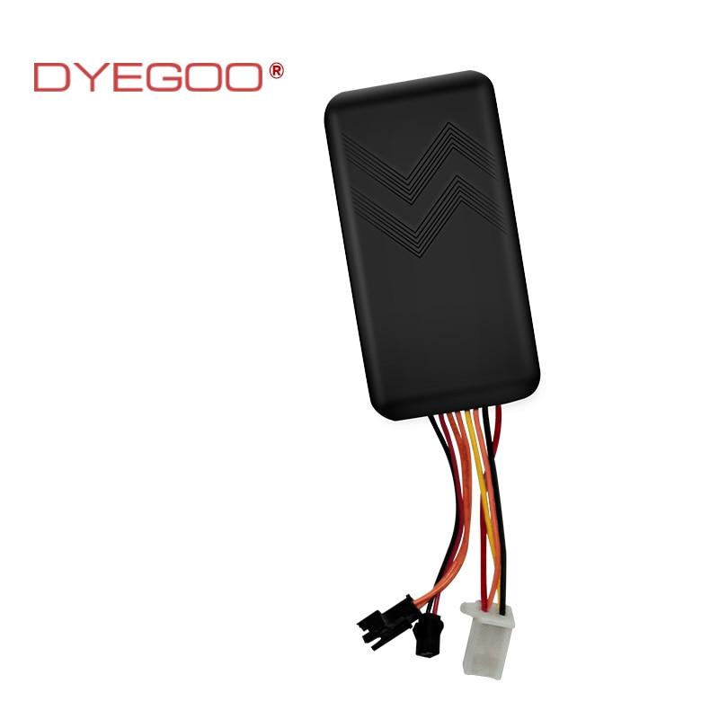 DYEGOO GT06 Frota GPS Tracker Rastreamento Em Tempo Real Com a função de Alta Velocidade de Corte do Circuito Plataforma Suporte IOS Android Frete Grátis