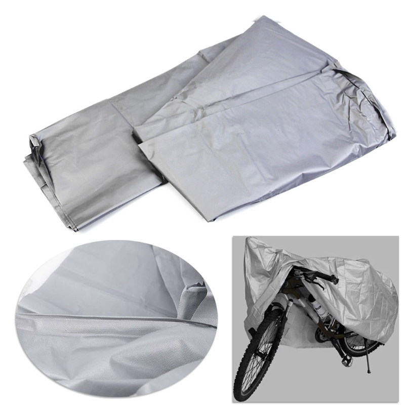 High Quality 1 Pc Waterproof Outdoor Bicycle Bike Motorcycle Scooter UV Protector Rain Snow Cover 10166