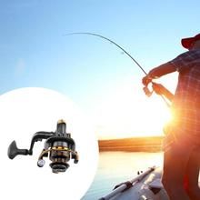 High quality 12+1BB Metal Spinning Fishing Reel Peche Fish Wheel GA Carp Ice Fishing Gear 5.5:1 Real 13BB Bait Casting Reel