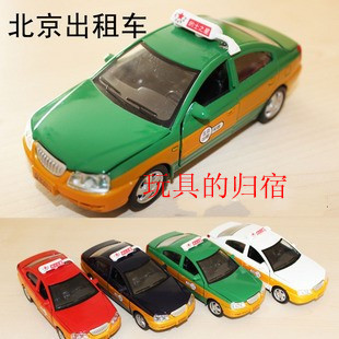 Alloy car model beijing  for hyundai   elantra acoustooptical WARRIOR cars taxi