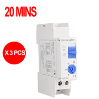 18mm Width Weekly Programmable Digital Time Switch 220V Time Relay Control DIN Rail Mount FREE SHIPPING