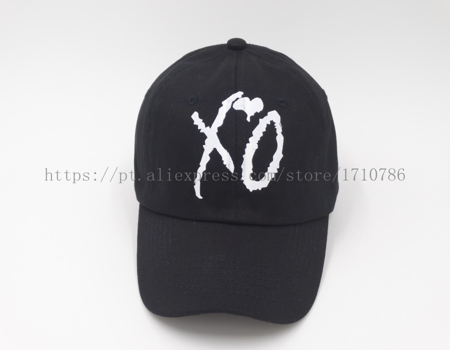 3ad3121ba92 XO Custom Unstructured Black Dad Hat Cap SNAPBACK Baseball Abel New ...