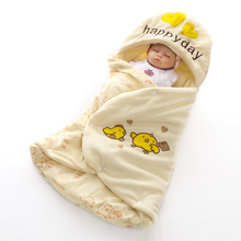 Newborn Baby Bathrobe Pajamas Cute Animal Cartoon Babies Kids Blanket Hooded Sleepers Toddler Comfortable Bath Towel