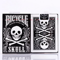 1 Deck Skull Back Deck Bicycle Playing Cards Poker Size USPCC Limited Edition Sealed Tricks Poker Cards 83069