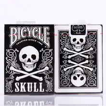 ФОТО 1 deck skull back deck bicycle playing cards poker size uspcc limited edition sealed tricks poker cards 83069