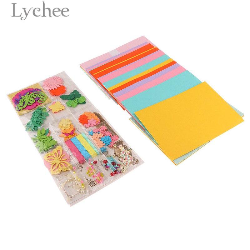 lychee handmade greeting card supplies creative flower