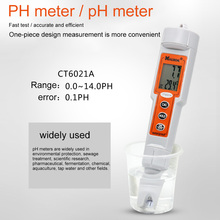 Professional PH Meter Water Quality Tester Digital Portable Waterproof LCD Display PH Value Temperature Alkalinity Measuring Pen ct 6021a portable pen type acid meter waterproof digital pocket ph measuring apparatus