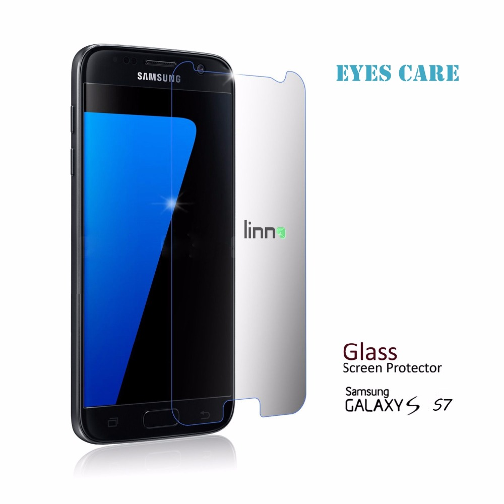 For Galaxy S7 protective film Eyes Care Anti UV Ray Blue Light cut ...
