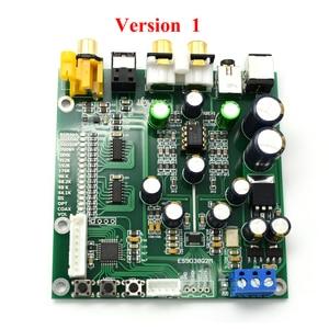 Image 2 - Lusya ES9038 Q2M DAC DSD Decoder Ondersteuning IIS DSD Coax Fiber ingang 384KHz DOP met OLED D5 001