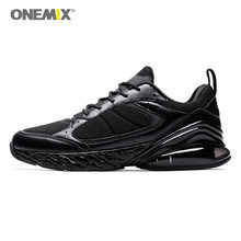 ONEMIX Running Shoes Gym Men & Women Sneaker Anti-Slip Lightweight Platform Fashion Walking Breathable Outdoor Jogging Couple(China)