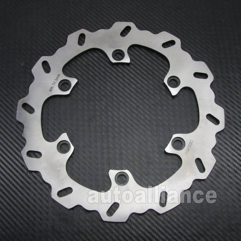 Rear Brake Disc Rotor for Suzuki Hayabusa GSX1300R 08 15 B King 08 10