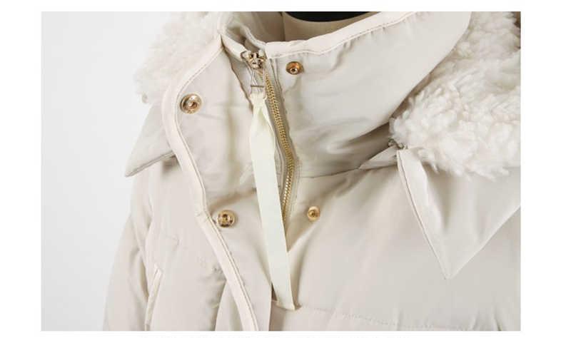 2019 mulheres jaqueta de inverno com capuz Casaco Quente algodão parka longo engrossar casacos de inverno jaqueta tamanho grande das mulheres básico tops