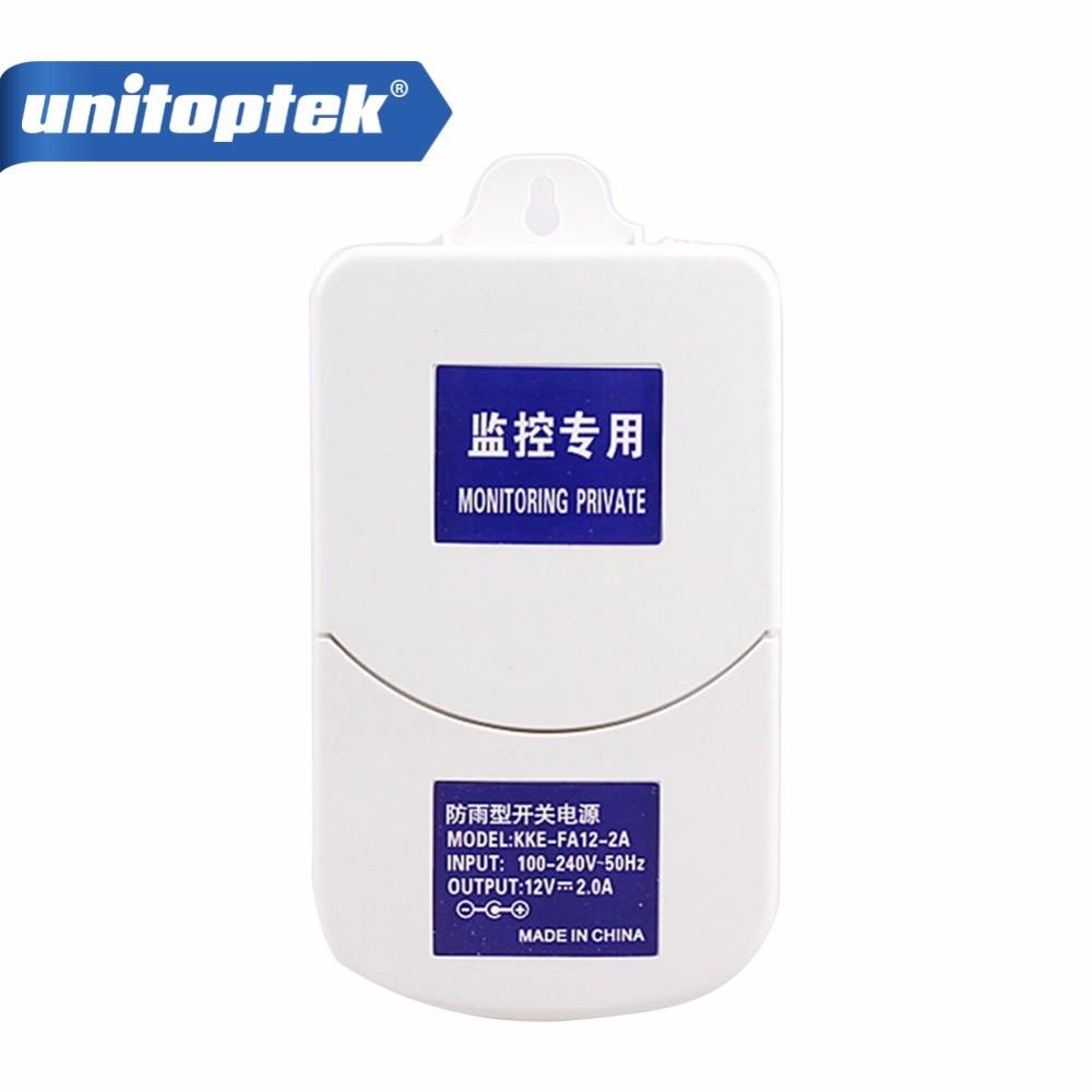 цена на 100-240V AC DC Adapter 12V 2A Waterproof Outdoor Switching Adapter CCTV Power BOX