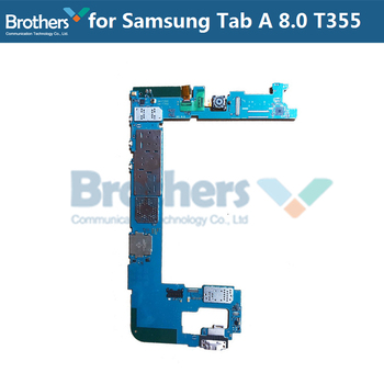 Motherboard For Samsung Galaxy Tab A 8.0 T355 Unlocked With Chips Working Well Mainboard Global firmware For Samsung T355 Top
