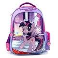 2017 новых детей мультфильм my little pony школьный девушки прекрасный рюкзак школьный Для детей дети Рождественский подарок bags0015