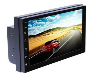 7-дюймовый Android автомобильный GPS плеер Емкостный HD сенсорный экран радио стерео Поддержка заднего вида камера вход Android 8,0