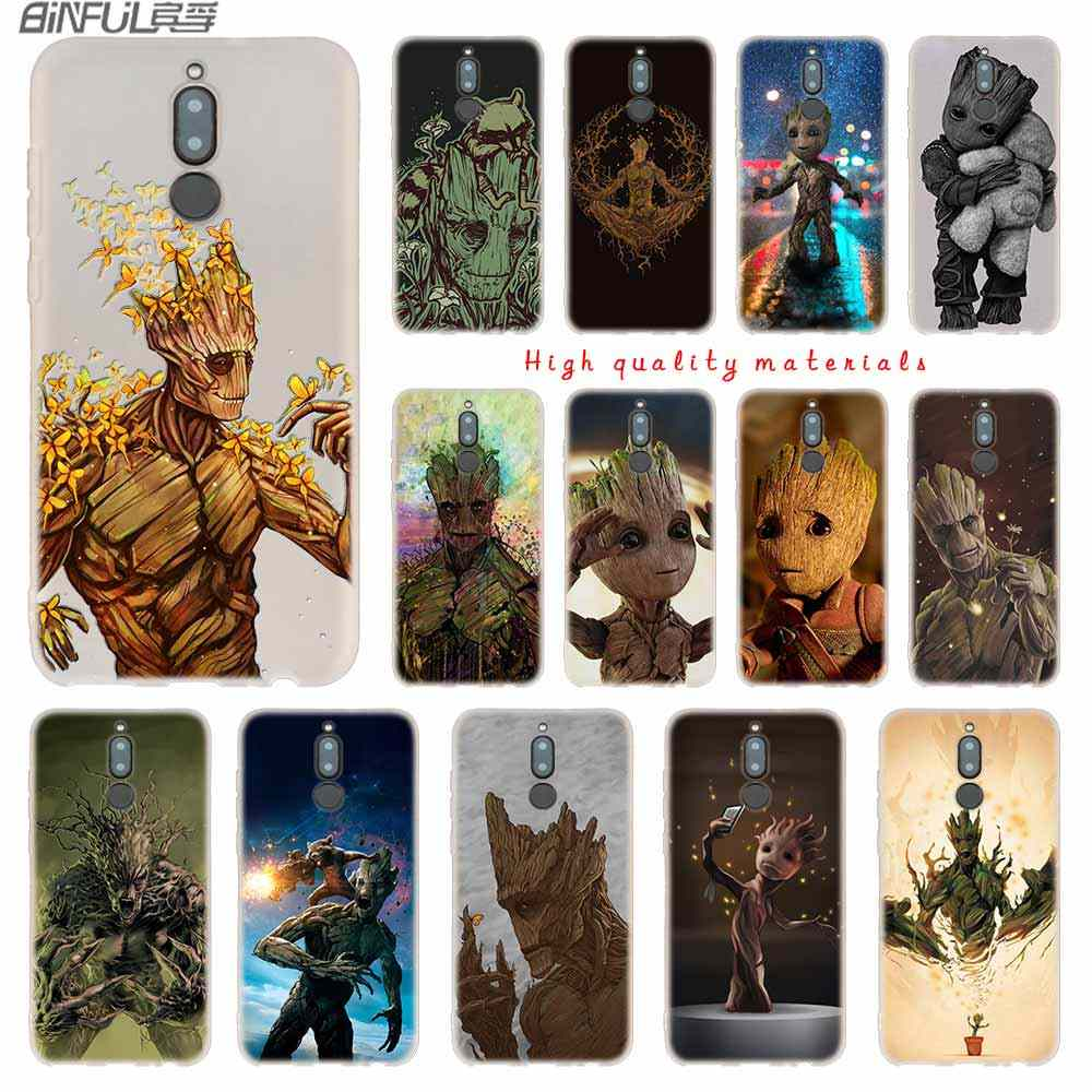 Guardians of the for Galaxy Marvel Soft Silicone Cases For Huawei Mate 10  Lite 10 20 Lite Pro 20X Y5 2017 Y9 2018 2019 NOVA 3 4