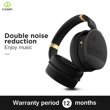 Cowin e8 HIFI Active Noise Cancelling Headphones ANC Wireless Bluetooth Earphones with Microphone, Stereo Deep Bass Headphones 1