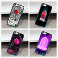 red rose stained glass beauty beast Cover Case for iphone 4 4S 5 5S 5C SE6 6s 6 plus 6s plus 7 7pus #CV1847