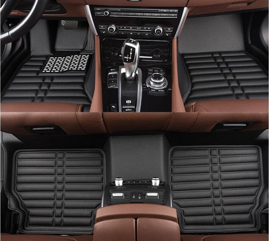 Tappetini auto Per Land Rover Range Rover Sport 2014.15.16.2017 Stuoia Del Piede Passo Stuoie Impermeabile di Alta Qualità, comodo, Stuoie pulito