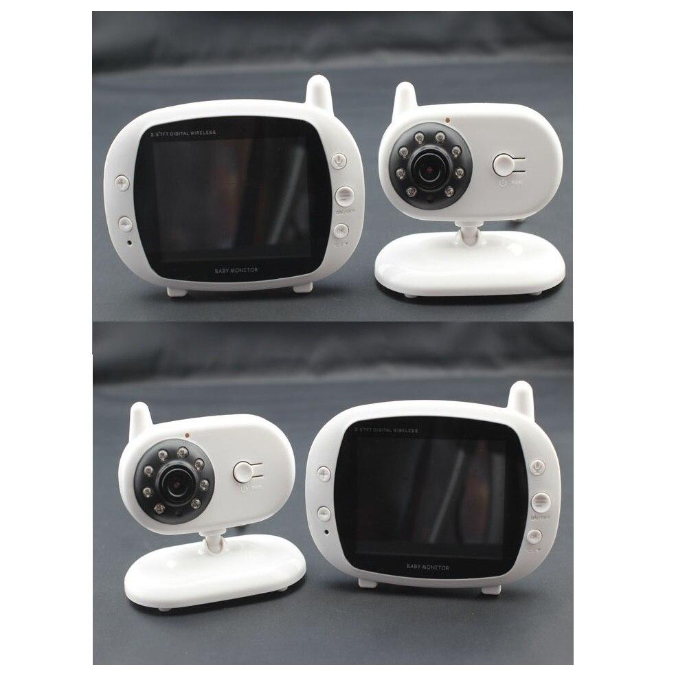 Babykam digital baby monitor fetal 3.5 inch LCD IR night vision 2 way talk 4 Lullabies Temperature Monitor video baby monitors