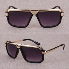 c129e7337e Vazrobe hombre gafas de sol de marca de diseñador gafas de sol para hombre  de nombre famoso gafas de hombre negro transparente