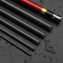 Carbon Fiber 2.7-7.2M Portable Telescopic Fishing Rod Hand Tackle River Stream EDF88