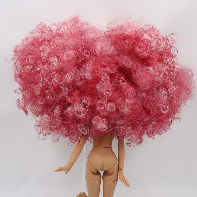 Neo Blythe Doll Dome Afro Hair Wigs
