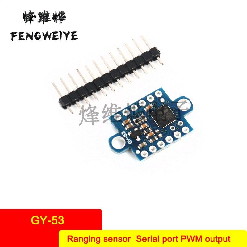 Panel GY 53 Laser ToF Flight Time VL53L0X Ranging Sensor Module Serial Port PWM Output