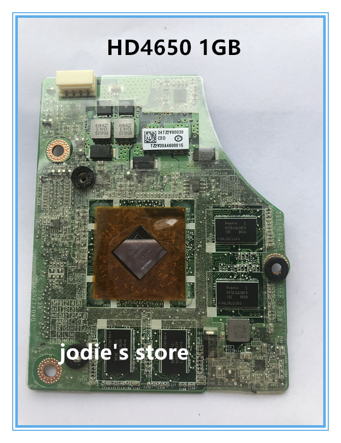 HD4650 <font><b>HD</b></font> <font><b>4650</b></font> 216-0729042 Graphic VGA Card 1GB DA0TZ2UBAC0 for LAPTOP Toshiba Qosmio A500 P500 X500 x505 image