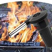 Высокое качество миниатюрный Электрический вентилятор прибор для барбекю портативная воздуходувка для наружного Z
