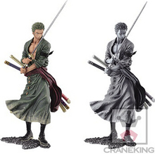 NEW hot 20cm One piece Roronoa Zoro Pictorial book action figure toys Christmas gift collectors
