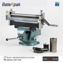 RB30 Manual Steel Plate Rolling machine BateRpak steel galvanized aluminum sheet Bending Machine Export Germany Quality