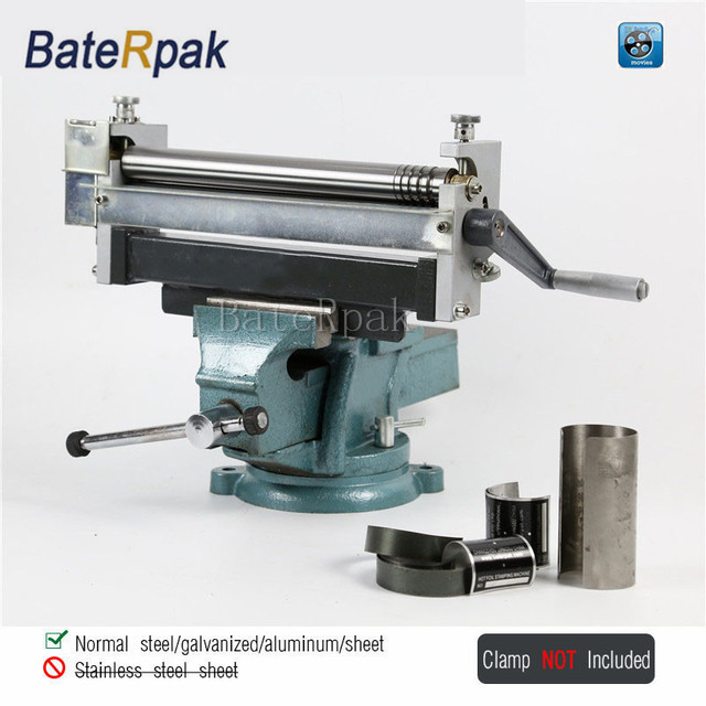 Rb30 Manual Steel Plate Rolling Machine Baterpak Steel