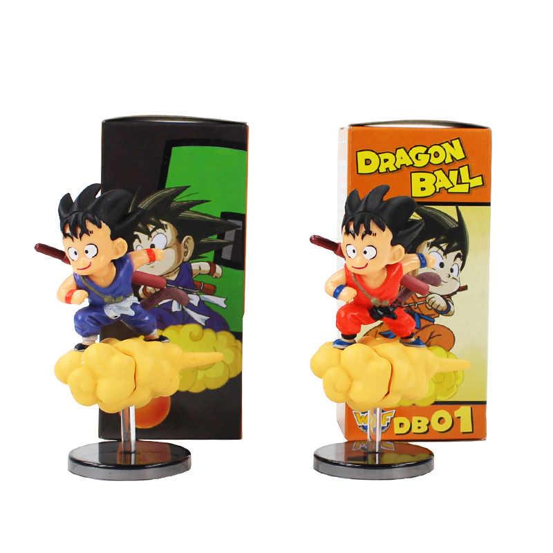 Dragon ball z son goku figuras cambalhota nuvem goku anime dbz modelo brinquedos