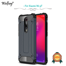 Xiaomi Mi 9T Case Shockproof Armor Rubber Silicone Hard PC Phone Bumper For Back Cover Fundas