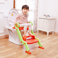New Arrival Child Toilet Seat with Steps Baby Safety Step Ladder Potty Foldable Non-slip Infant Toilet Seat Kids Toilet Trainer