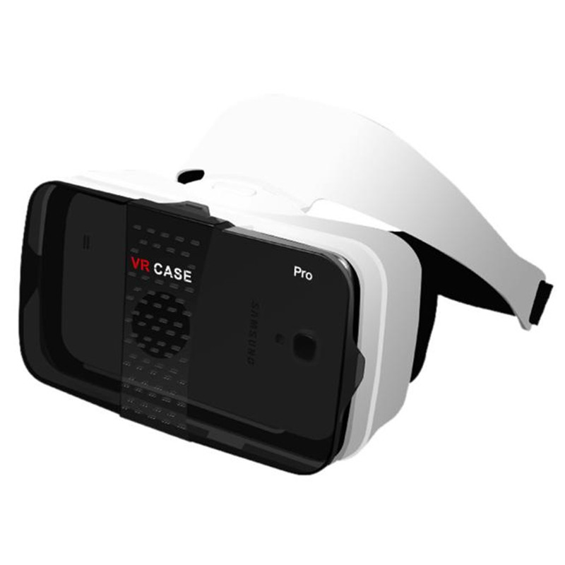 Caja caso pro vr vr gafas de realidad virtual inmersiva google para 4-6.3 pulgad