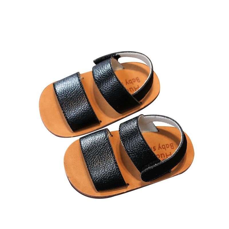 2019 Summer For 0-2Y Kids Genuine Leather Sandals Infant Toddler Shoes Bebe Girl Sandals Baby Boys Summer Shoes