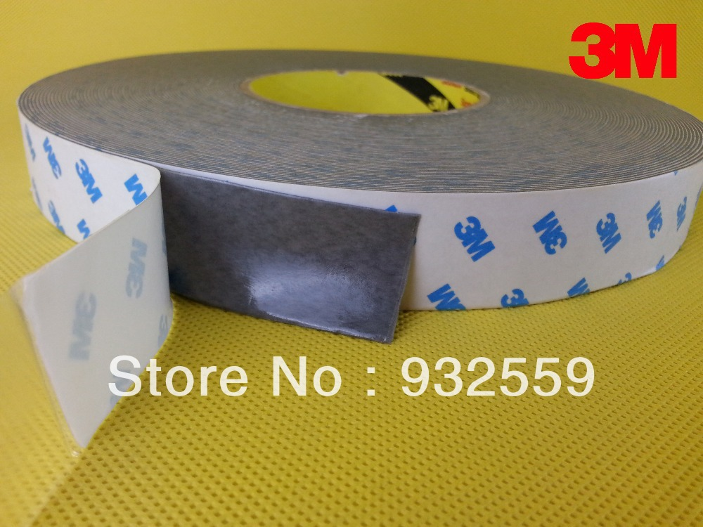 High heat resistance double sided acrylic foam tape for vibration/sound damping in cold condition 20mmX30M/pc 2pcs/lotHigh heat resistance double sided acrylic foam tape for vibration/sound damping in cold condition 20mmX30M/pc 2pcs/lot