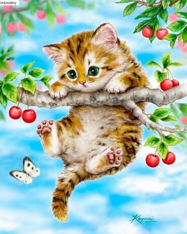Симпатичні кішки дриль смола стрічка - Мистецтво, ремесла та шиття - фото 5