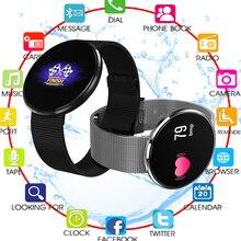 Водонепроницаемый Смарт-часы CF006H плюс браслет Спорт Фитнес трекер сердечного ритма крови Давление Smartwatch для IOS и Android