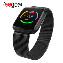 Y7 Bluetooth Smart Watch Touch Screen Wrist Watch Waterproof Sports Fitness Tracker Phone Watch with Android Phones Samsung цена