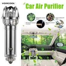 VORCOOOL автомобильный очиститель воздуха ионизатор-воздухоочиститель ионный освежитель воздуха и Устранитель запахов удаление курения очиститель запахов диффузор