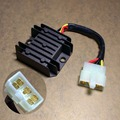 Free Shipping 5wires Female socket/connect 12V  CG  125CC Motorcycle Voltage Regulator Rectifier motorcycle ignition part