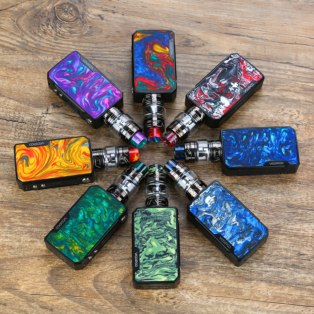 Original VOOPOO Drag Mini TC Kit 4400mAh w Drag 2 Mod Battery 5ml 2ml UFORCE T2 Tank Upgraded Firmware Box Mod vs Luxe Kit in Electronic Cigarette Kits from Consumer Electronics