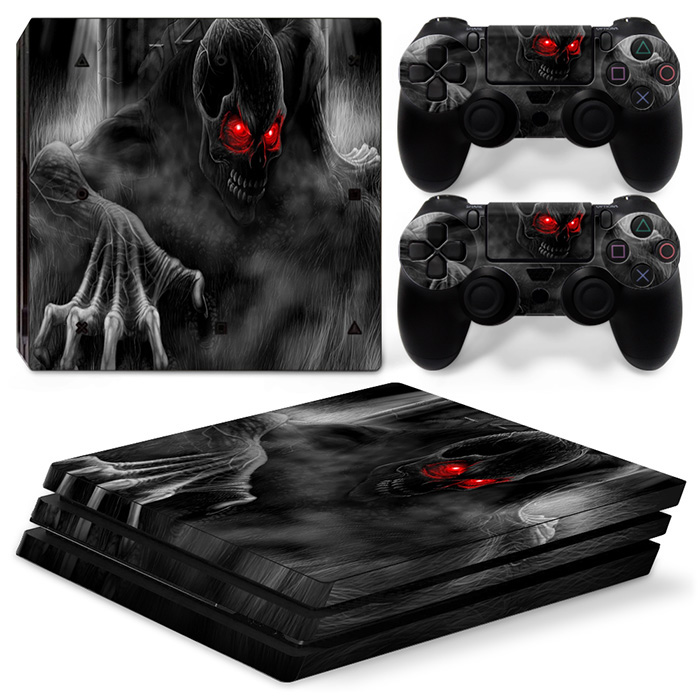 Skin Decal Wrap For PS4 PRO for Playstation 4 Pro Console + Controller Stickers