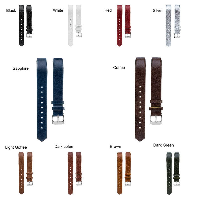 Genuine Leather Wrist Band For Fibit Alta/Alta HR Replacement Fully Wrapped Genuine Leather for Fitbit Alta / Alta HR Wrist Band