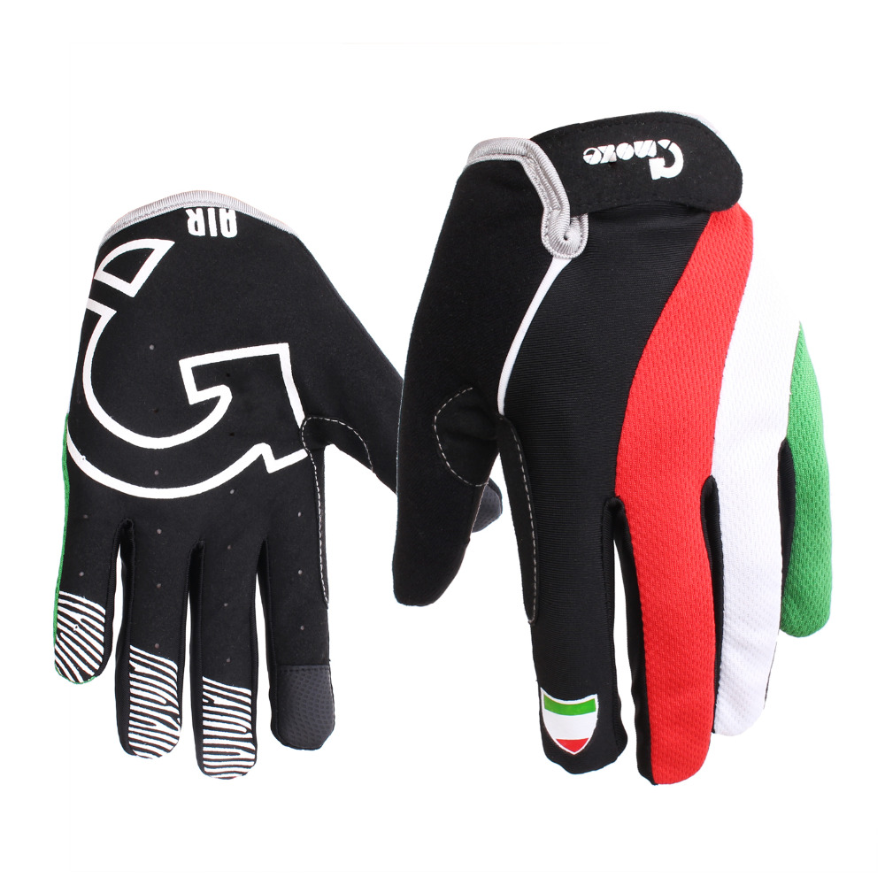 2016 Cycling Gloves Full Finger Windproof Touch Screen Mountain Road Bicycle Bike Air Gloves Guantes Ciclismo Men Women