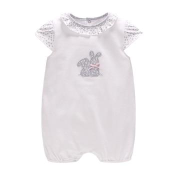 726242b53 Vlinder 2018 nuevo bebé niñas niños verano corto peleles pijamas recién  nacidos ajustado de manga corta infantil lindo conejo mono